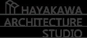 HAYAKAWA ARCHITECTURE STUDIOO 会社ロゴ